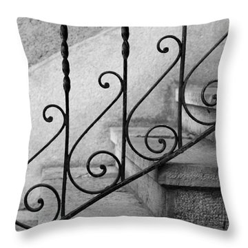 Lyrical  Throw Pillow by Colleen Williams