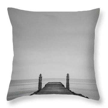 One Step Closer Throw Pillow