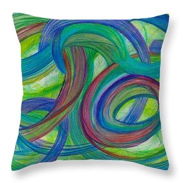 One Stupendous Whole-horizontal Throw Pillow