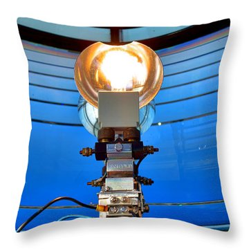 One Thousand Watts Throw Pillow by Olivier Le Queinec