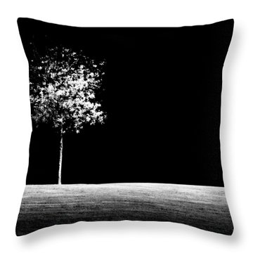 One Tree Hill Throw Pillow by Darryl Dalton