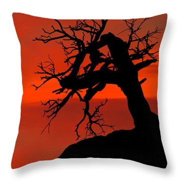 One Tree Hill Silhouette Throw Pillow