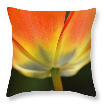 One Tulip Throw Pillow