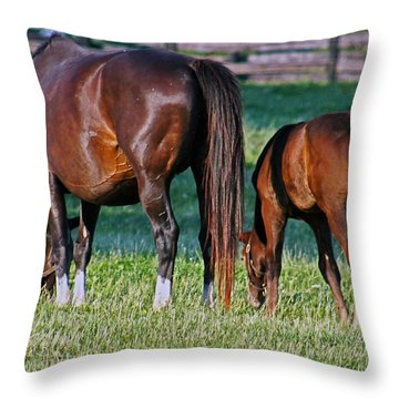One Two Throw Pillow