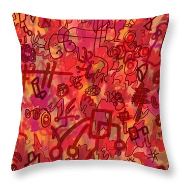 One Wall Throw Pillow