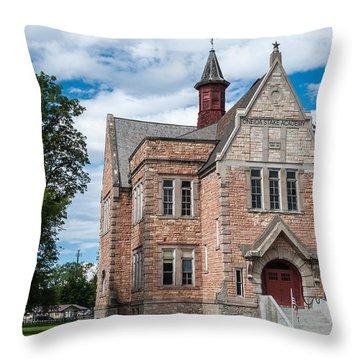 Oneida Stake Academy - Preston - Idaho Throw Pillow