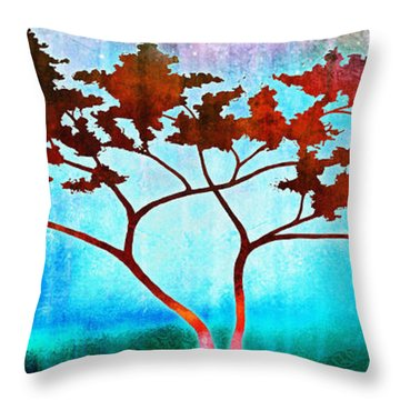 Oneness Throw Pillow by Jaison Cianelli