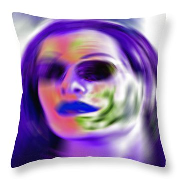 Oneself Throw Pillow by Gwyn Newcombe