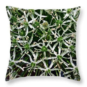 Throw Pillow featuring the photograph Onion by Henry Kowalski
