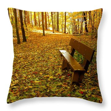 Only Lovers Are Missing Throw Pillow by Zafer Gurel