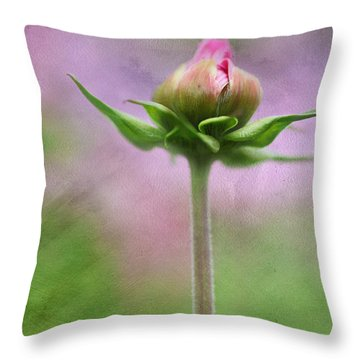 Throw Pillow featuring the photograph Only One by Annie Snel
