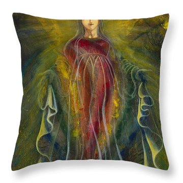 Only One Illuminates My Soul IIi Throw Pillow