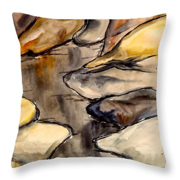Only Rocks Throw Pillow