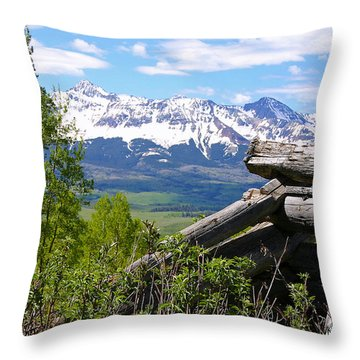 Only The Structures Crumble Throw Pillow