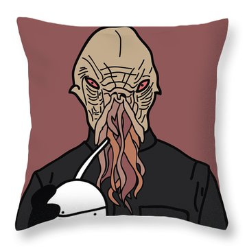oOd Throw Pillow by Jera Sky