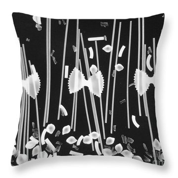 Oodles Of Noodles #1 Throw Pillow by Robert ONeil