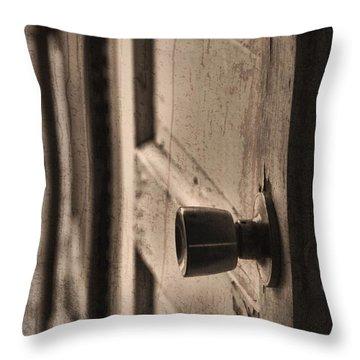 Open Doors Throw Pillow by Dan Sproul
