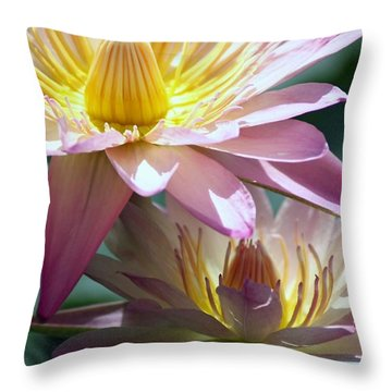 Throw Pillow featuring the photograph Open Heart by Mary Lou Chmura