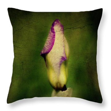 Throw Pillow featuring the digital art Open In The Morning by Lana Trussell