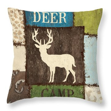 Open Season 2 Throw Pillow