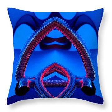 Throw Pillow featuring the photograph Open by Trena Mara