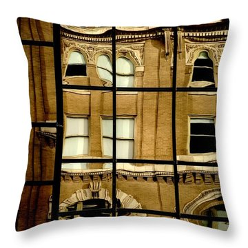 Throw Pillow featuring the photograph Open Windows by Christiane Hellner-OBrien