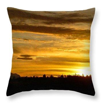 Open Your Heart Throw Pillow by Jordan Blackstone