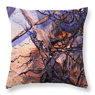 Opening Throw Pillow by Sami Tiainen