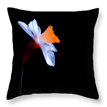 Opening To The Light Throw Pillow