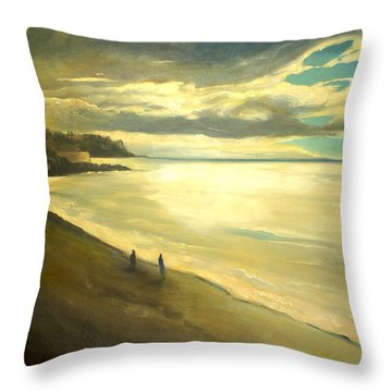 Opera Plage - In Nice Throw Pillow