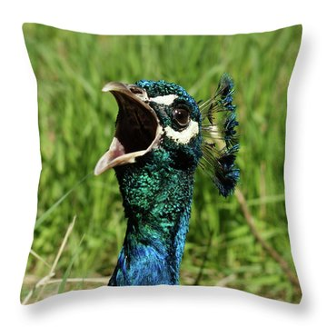 Opera Star Throw Pillow