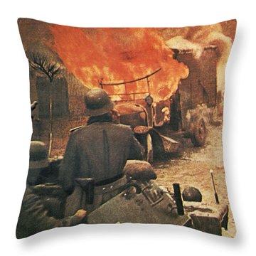 Operation Barbarossa, 1943 Throw Pillow
