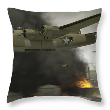 Wwii Throw Pillows