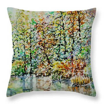 Opposite Riverside IIi Throw Pillow