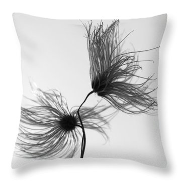Opposites Obstruct Throw Pillow by Jerry Cordeiro