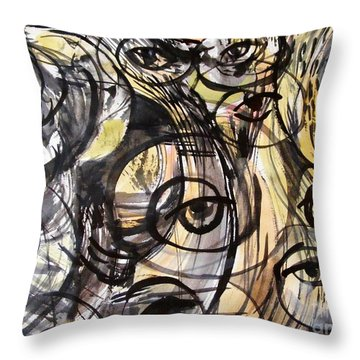 Optometry Throw Pillow