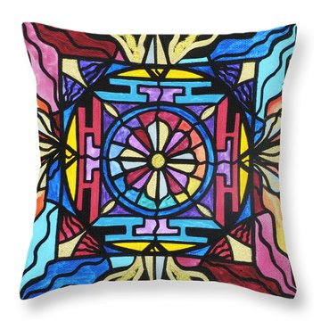 Opulence Throw Pillow by Teal Eye  Print Store