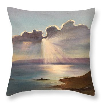 Opus 1 Throw Pillow