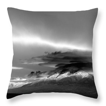 Throw Pillow featuring the photograph Oquirrh Range Utah by Ron White