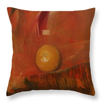 Orange Throw Pillow