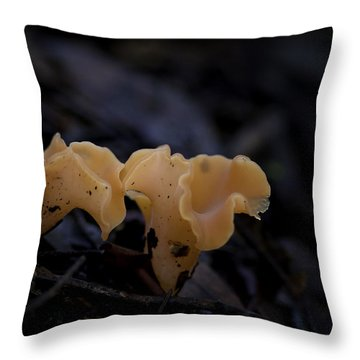 Throw Pillow featuring the photograph Orange Peel by Betty Depee