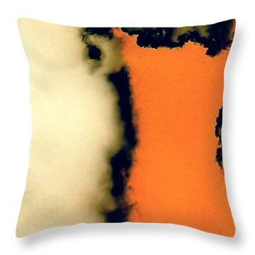 Storm Throw Pillow by Jacqueline McReynolds