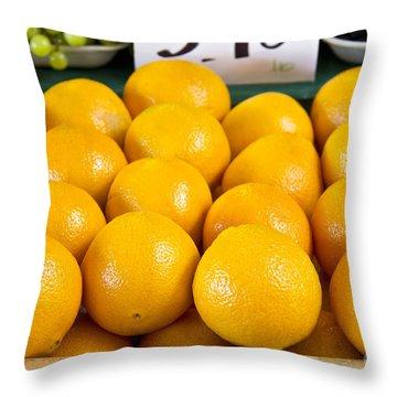 Oranges 1 Throw Pillow