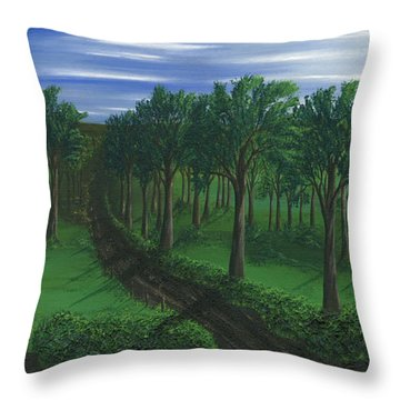 Orchard Road Throw Pillow