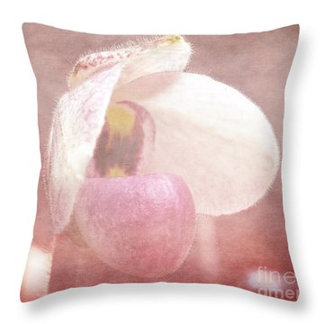 Orchid Softly Throw Pillow