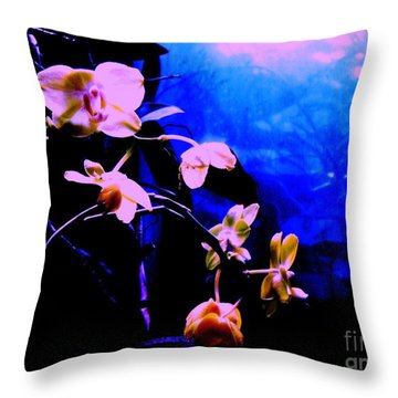 Orchidia Throw Pillow