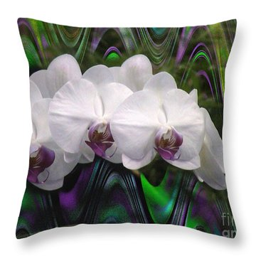 Throw Pillow featuring the photograph Balanchine Ballet by The Art of Alice Terrill