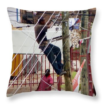 Throw Pillow featuring the photograph Ordinary Wonders Of Africa 3 by Mikhail Savchenko