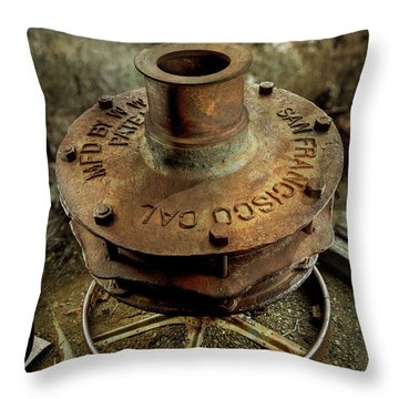 Ore Crusher Throw Pillow