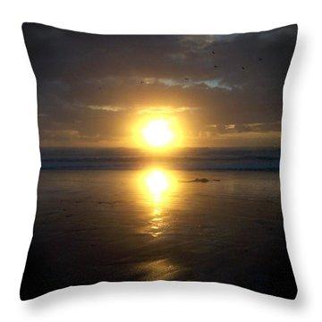 Oregon Coast 15 Throw Pillow